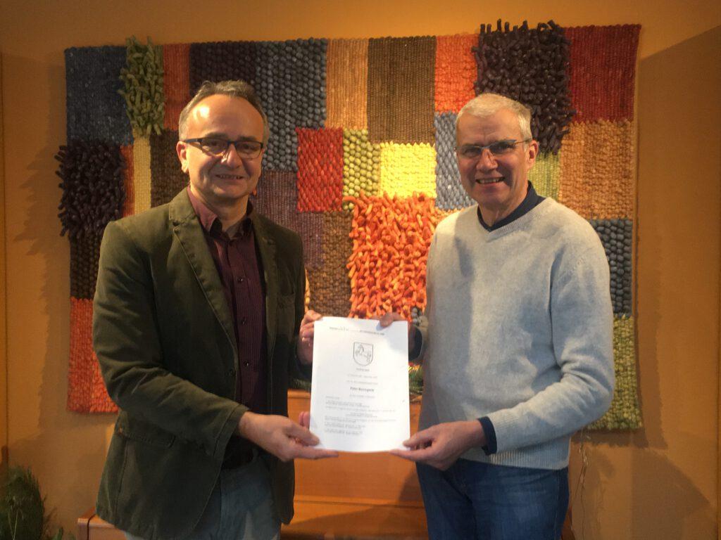 Read more about the article 07.12.2020: Kaufvertrag unterzeichnet